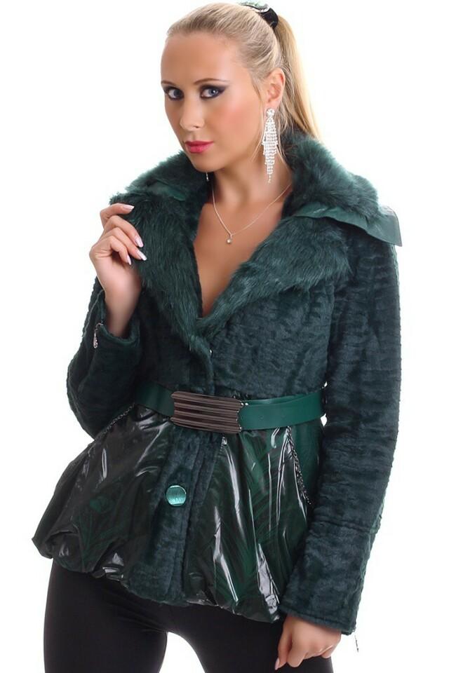 Chlupatinový kabát - L/XL