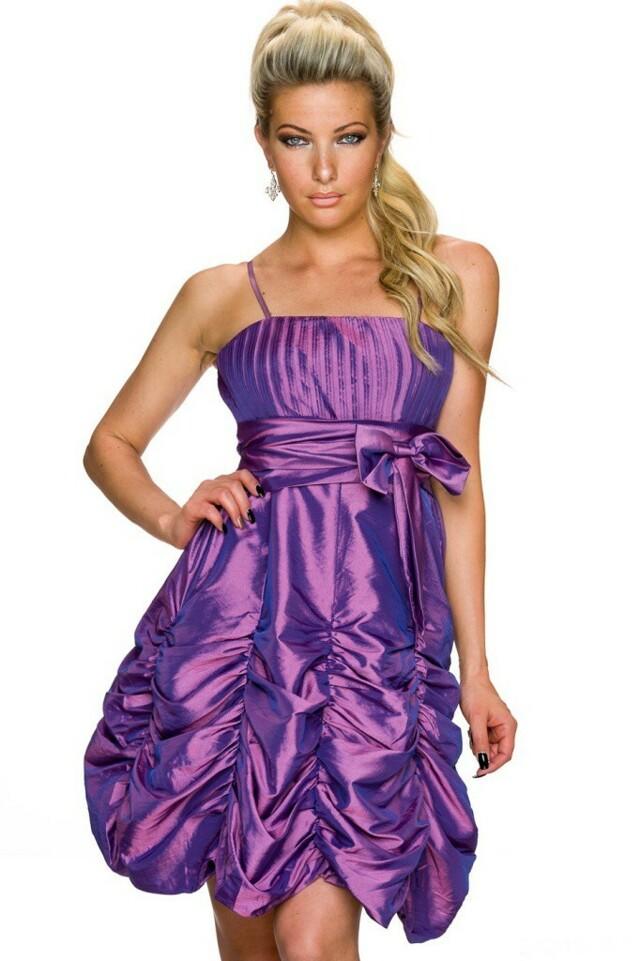 Krátké společenské šaty - L