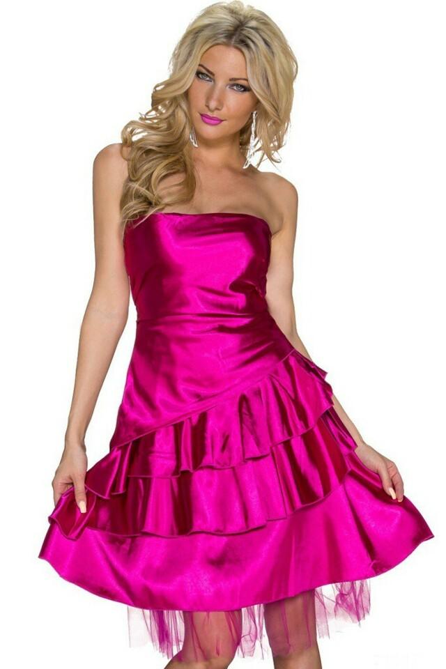 Plesové šaty krátké - L