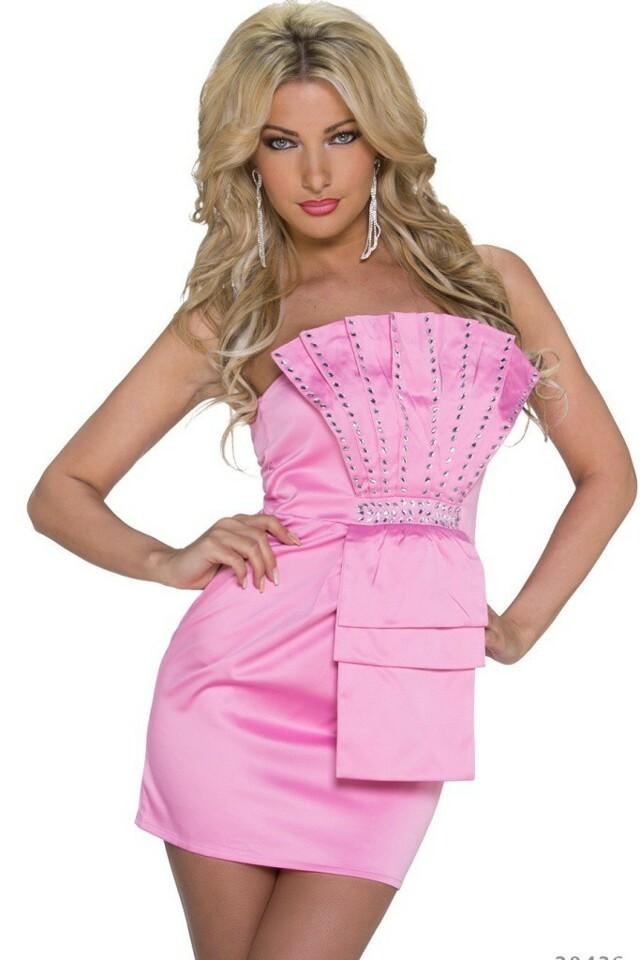 Plesové šaty krátké - S/M