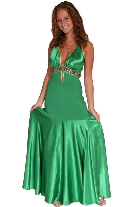 Plesové šaty dlouhé - M