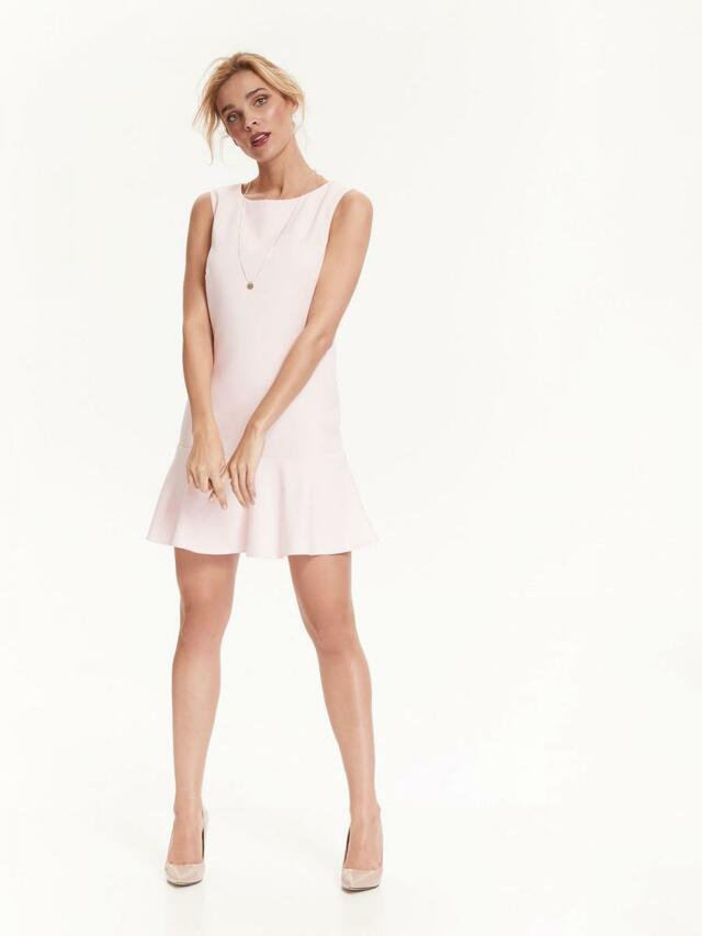 Top Secret šaty dámské s volánkem a bez rukávu - 36