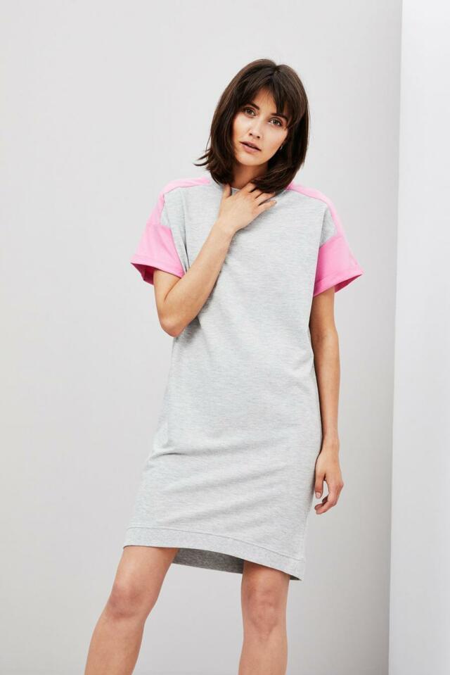 Moodo šaty dámské bavlněné s krátkým rukávem
