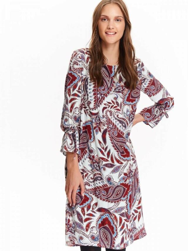 Top Secret šaty dámské vzorované s 3/4 rukávem - 36
