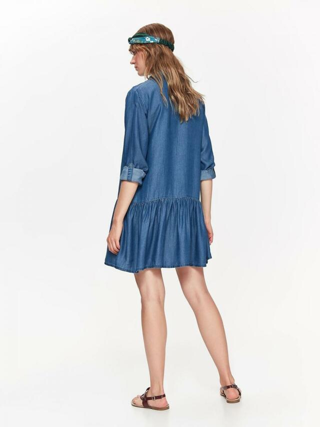 d1b0ac515990 ... Top Secret šaty dámské jeans s dlouhým rukávem (804597) - 6 ...