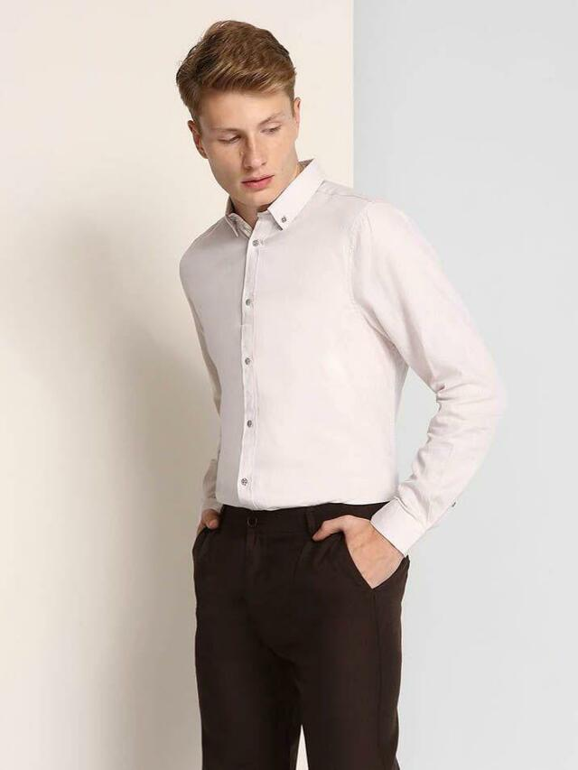 Top Secret Košile pánská dlouhý rukáv - 46