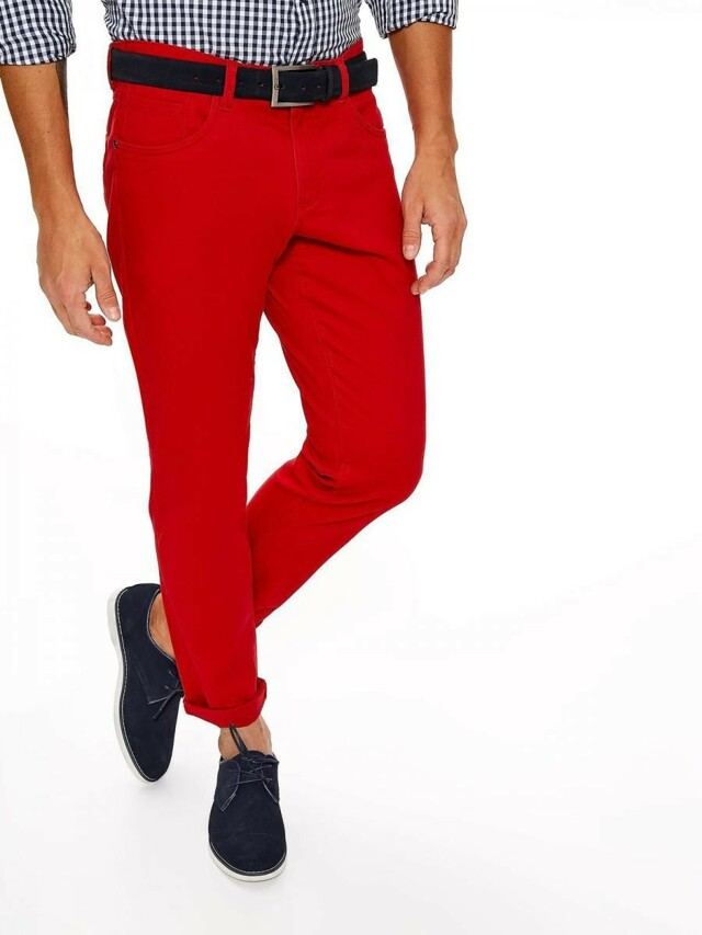 Top Secret Kalhoty pánské červené