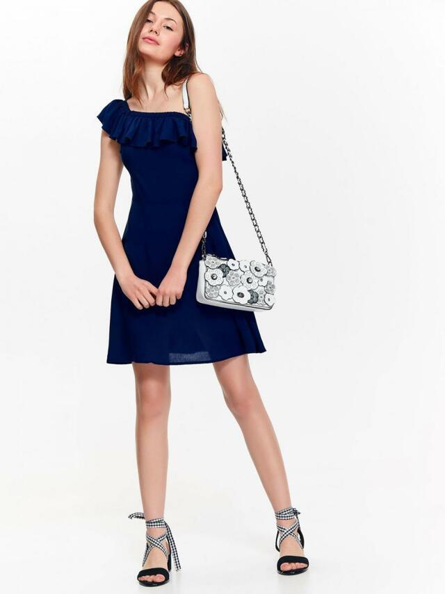 1b01932d03a5 Top Secret šaty dámské tmavě modré s ohalenými rameny (696126) - 1 ...