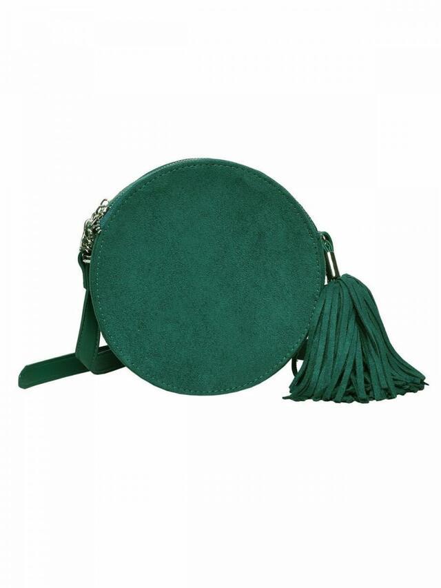 Top Secret Kabelka dámská zelená kulatá