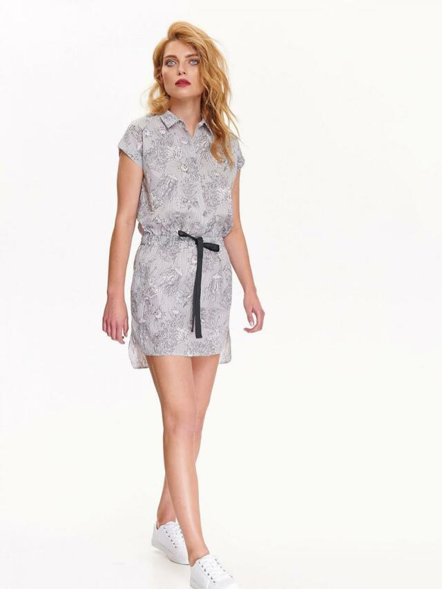 Top Secret šaty dámské bílé vzorované - 36 297a79f5f2