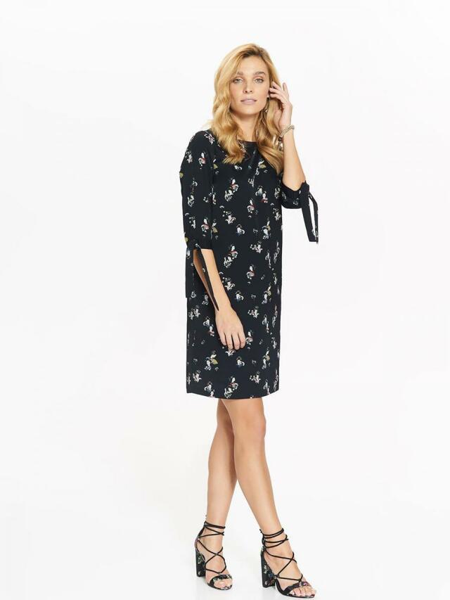Top Secret šaty dámské GEJŠA s průstřihy na rukávech - 36