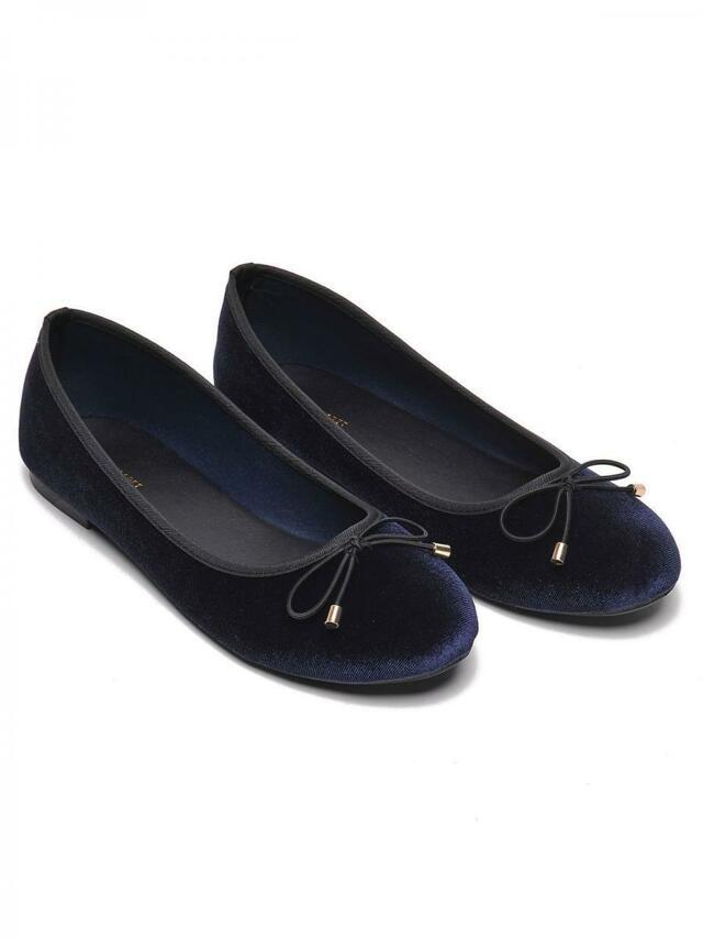 Top Secret Baleríny dámské tmavě modré - 36