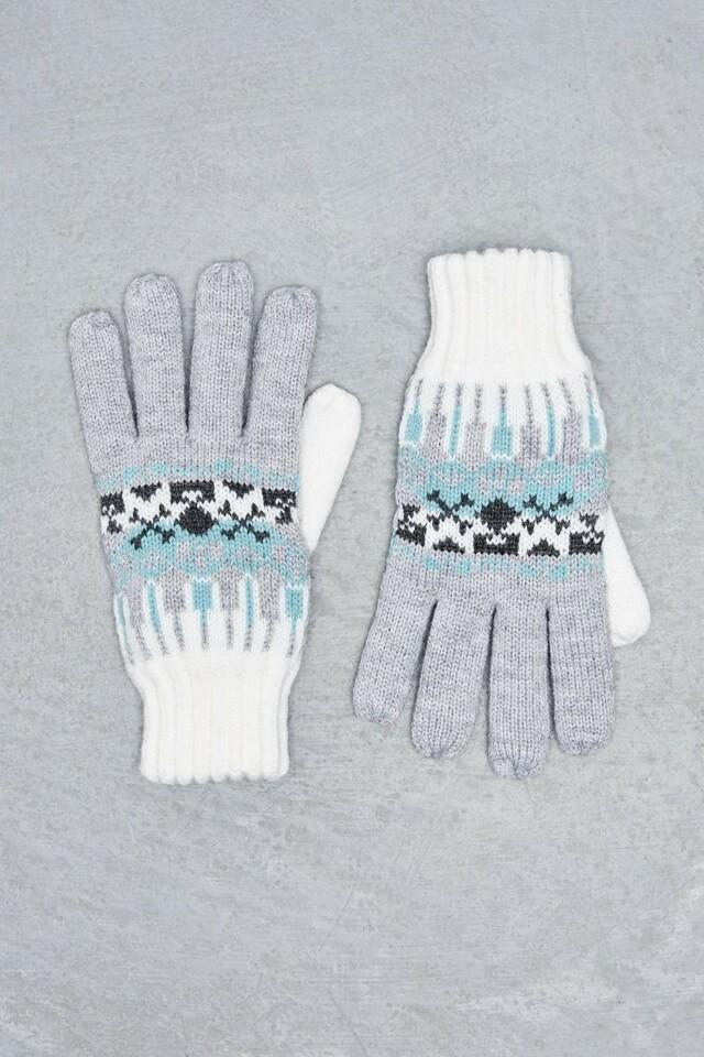 Moodo Rukavice dámské pletené prstové