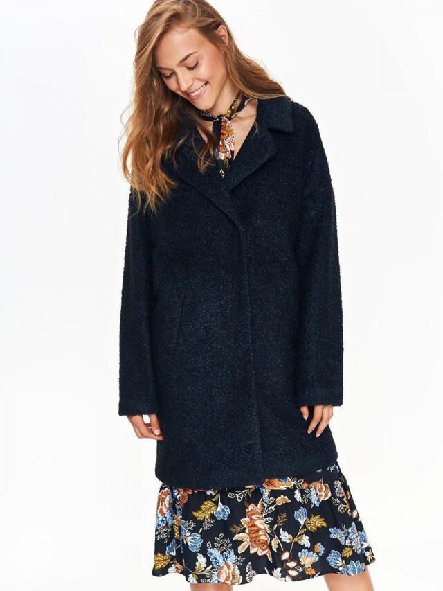 Top Secret Kabát dámský vlněný v červeném odstínu - 42