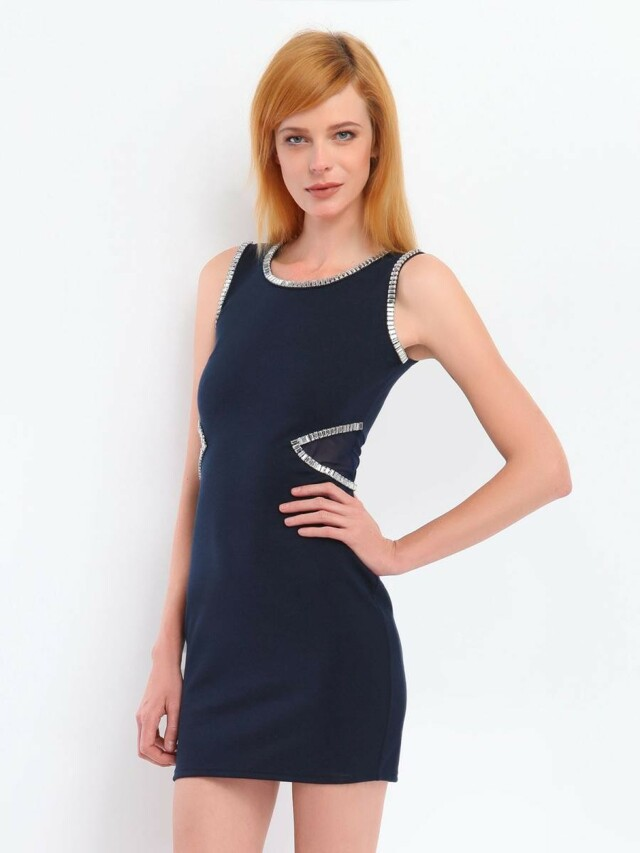 Top Secret šaty dámské bez ramínek