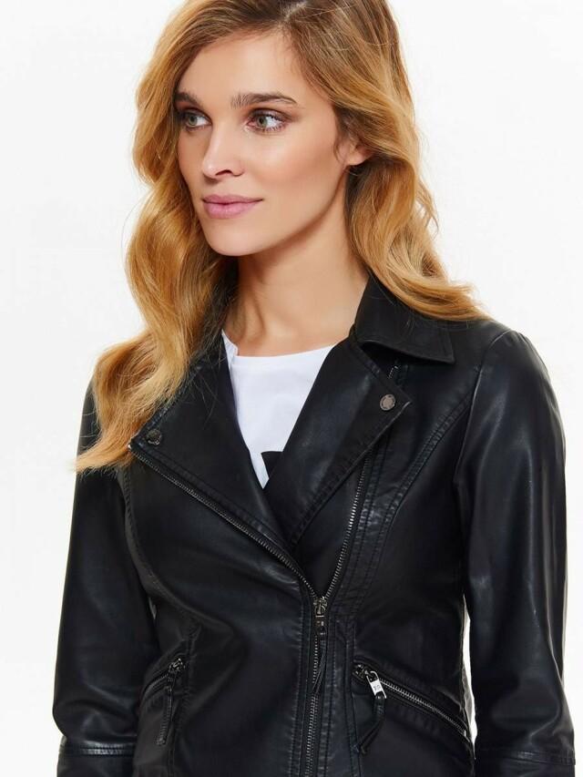 Top Secret Bunda dámská černá motorkářská