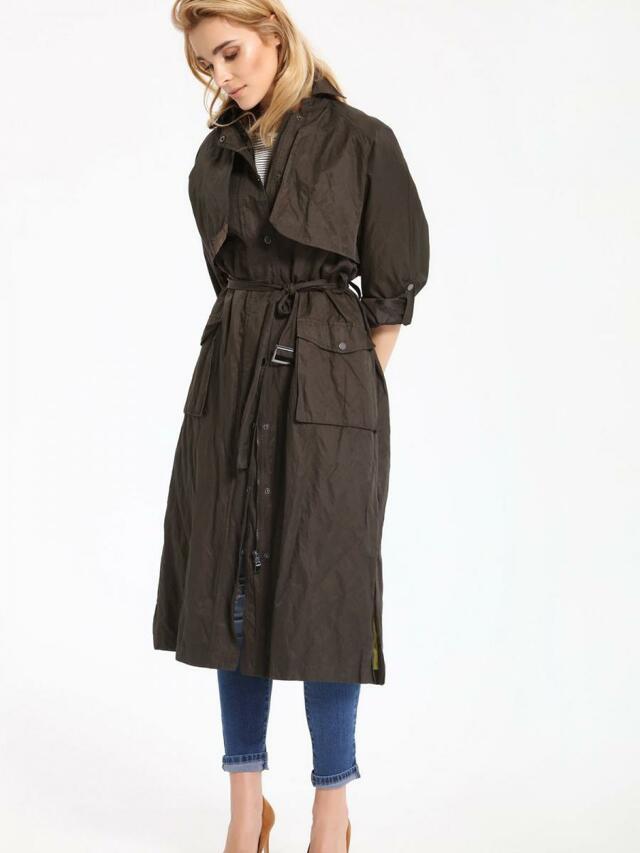 Top Secret Kabát dámský dlouhý - 38