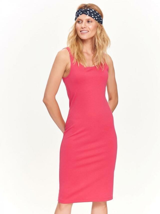 Top Secret šaty dámské růžové MIDI bez rukávu - 36 7e2e3e2737