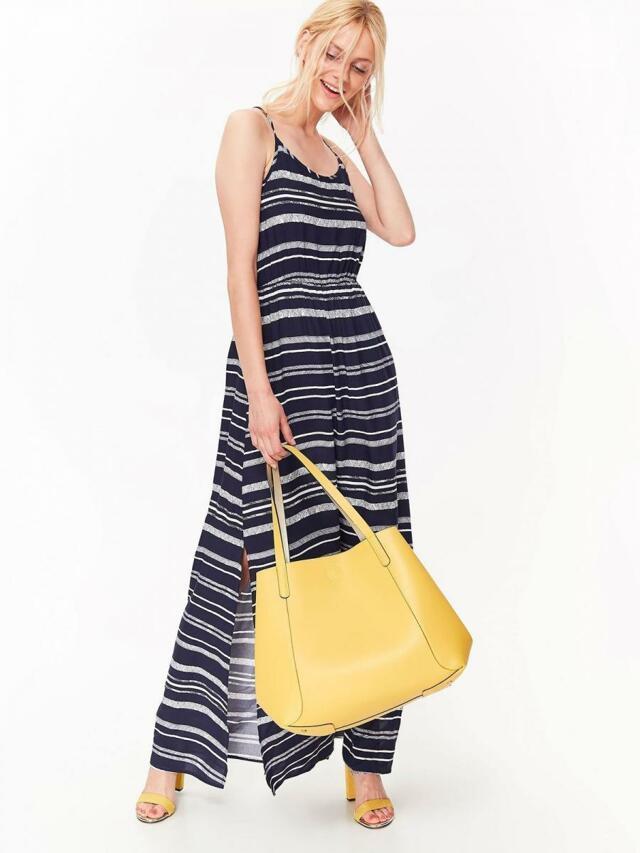 Top Secret šaty dámské pruhované dlouhé - 34 0944cdc1f74
