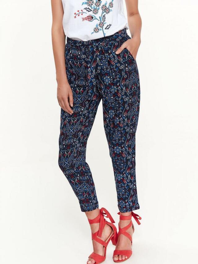 c3af567e45e Top Secret Kalhoty dámské volné vzorované - 34