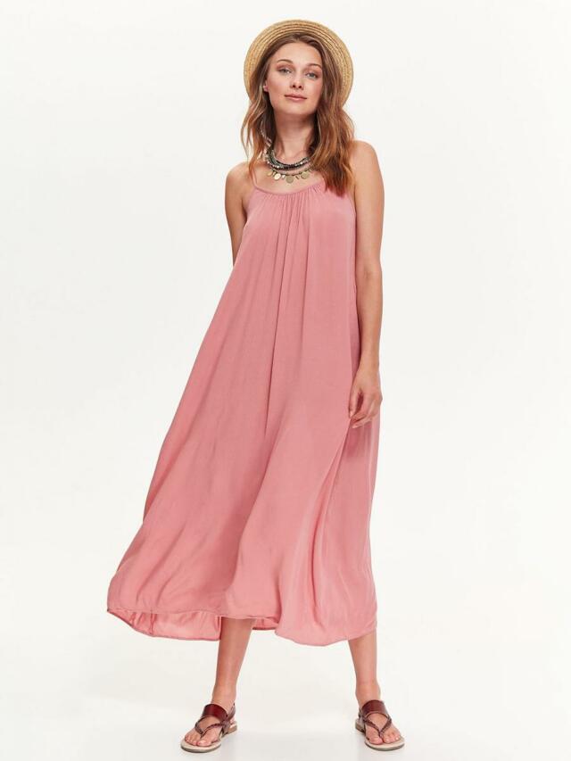 7c16c2b943a Top Secret šaty dámské růžové dlouhé - 42