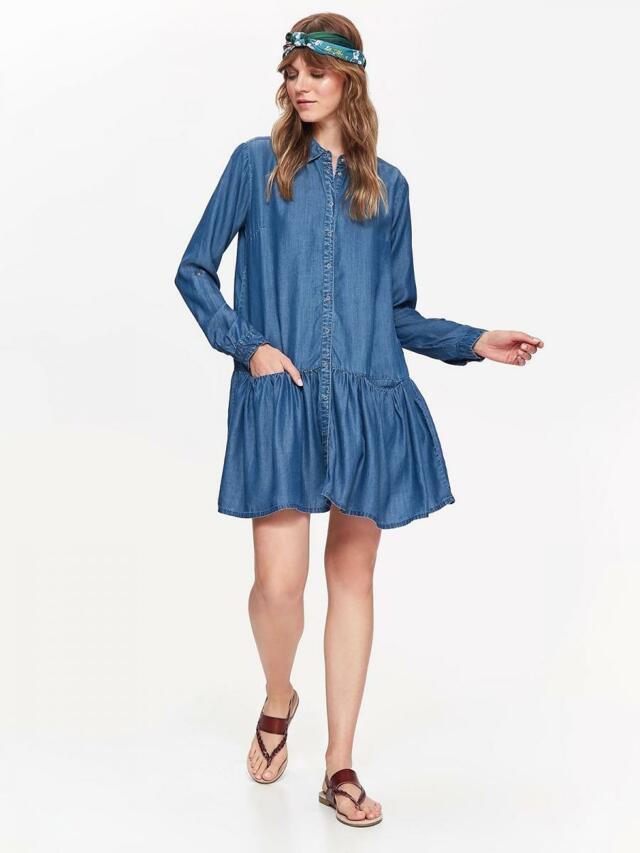 639b2d07ea8f ... Top Secret šaty dámské jeans s dlouhým rukávem (804597) - 5 ...