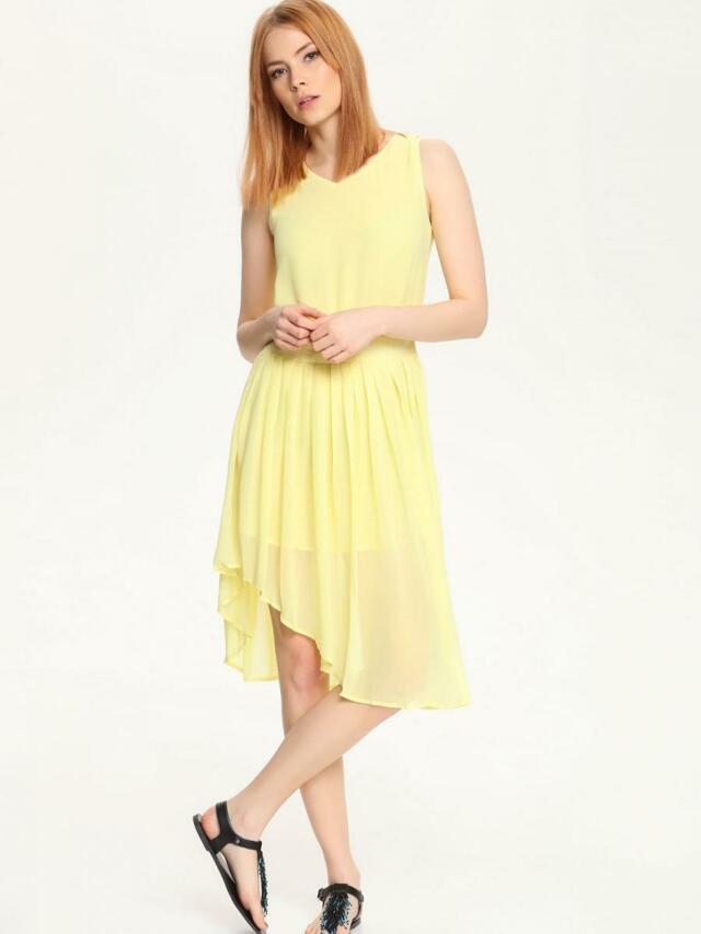 Top Secret šaty dámské plísované bez rukávu