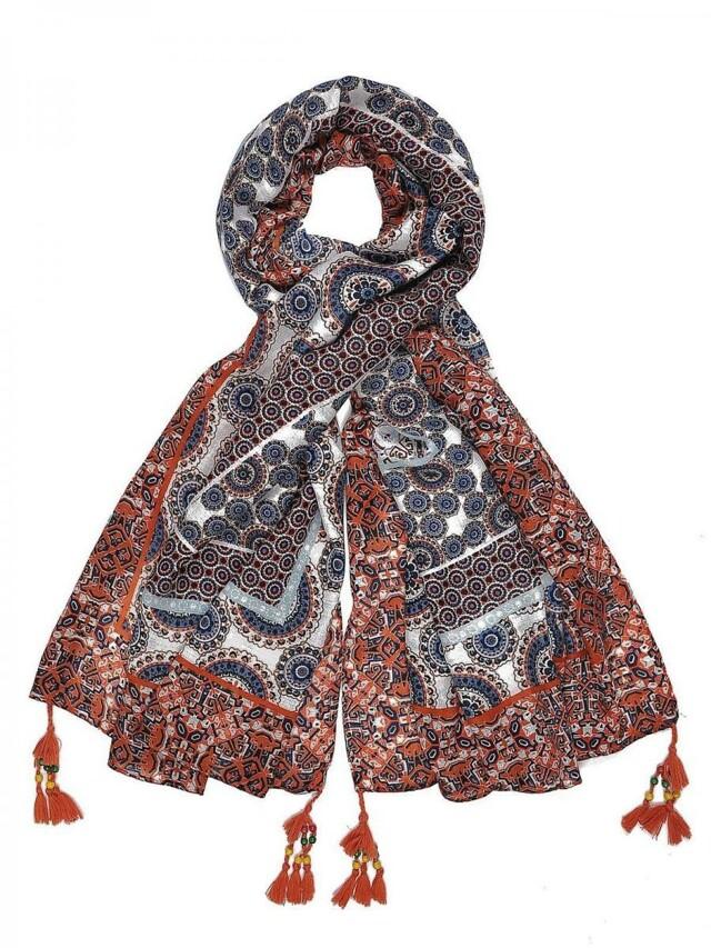 Top Secret šátek dámský oranžový