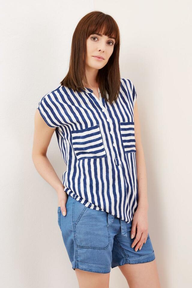 Moodo Košile dámská bez rukávu