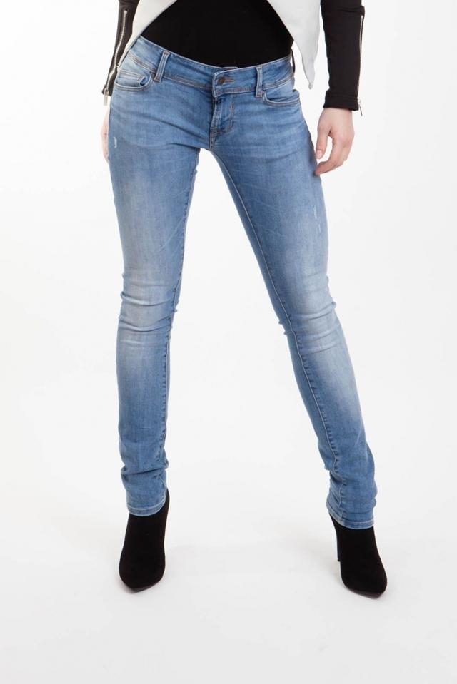 Jeans dámské slim nízký sed - 30/32