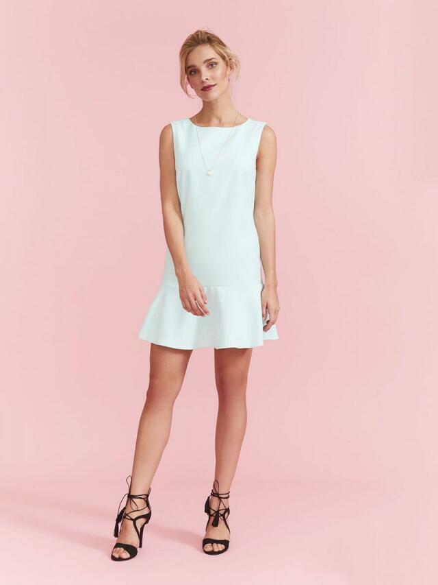 Top Secret šaty dámské s volánkem a bez rukávu - 34