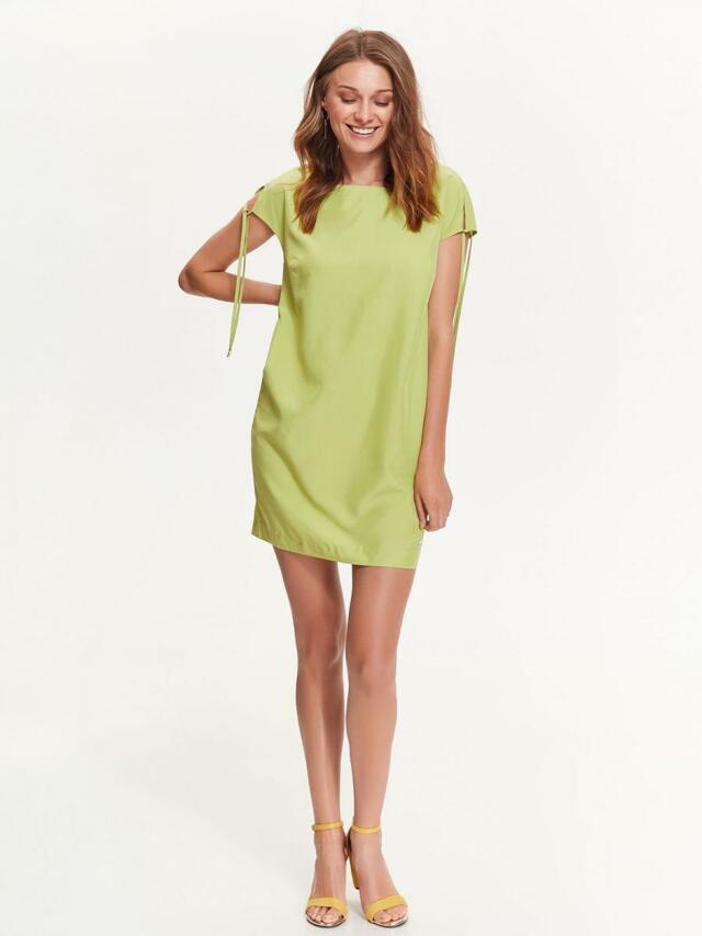 2bf7f5a6cd2a Top Secret šaty dámské na zip a krátkým zavazovacím rukávem - 36