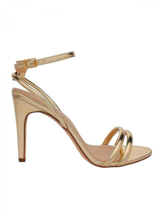 fb7065593b0c Top Secret Sandály dámské zlaté na podpatku - 37