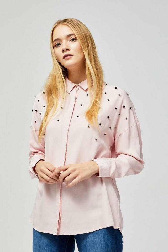 Moodo Košile dámská s perličkama - XS