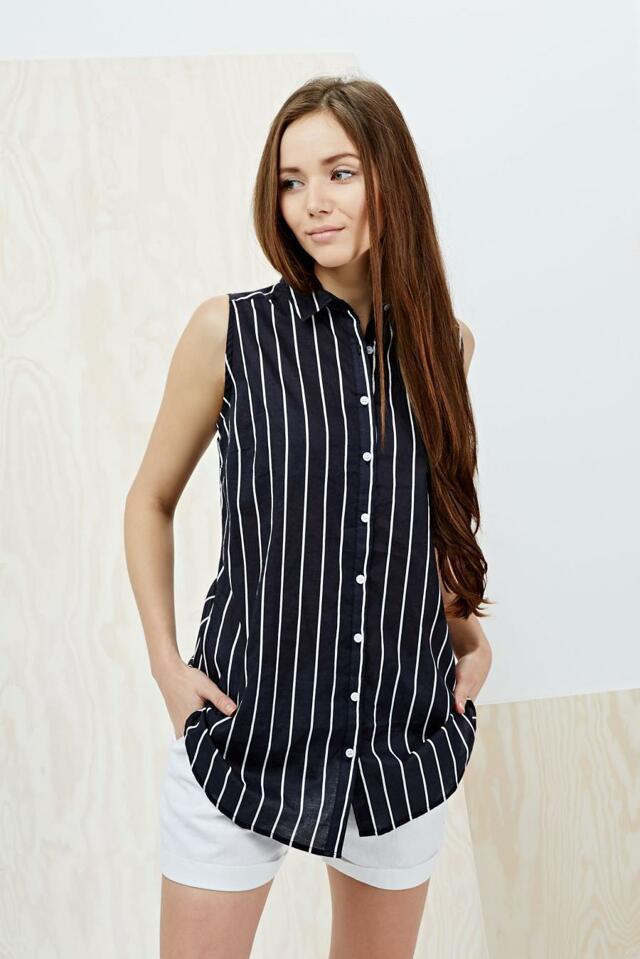 Moodo Košile dámská bez rukávu - XS