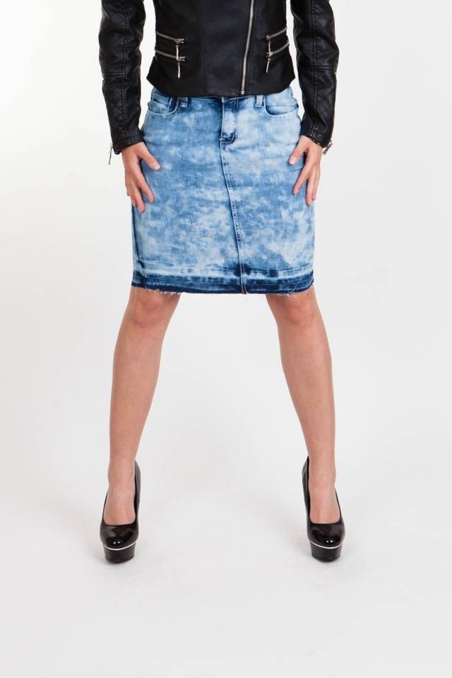 Moodo Sukně dámská jeans - XS