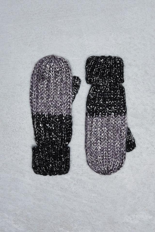 Moodo Rukavice dámské pletené palčáky