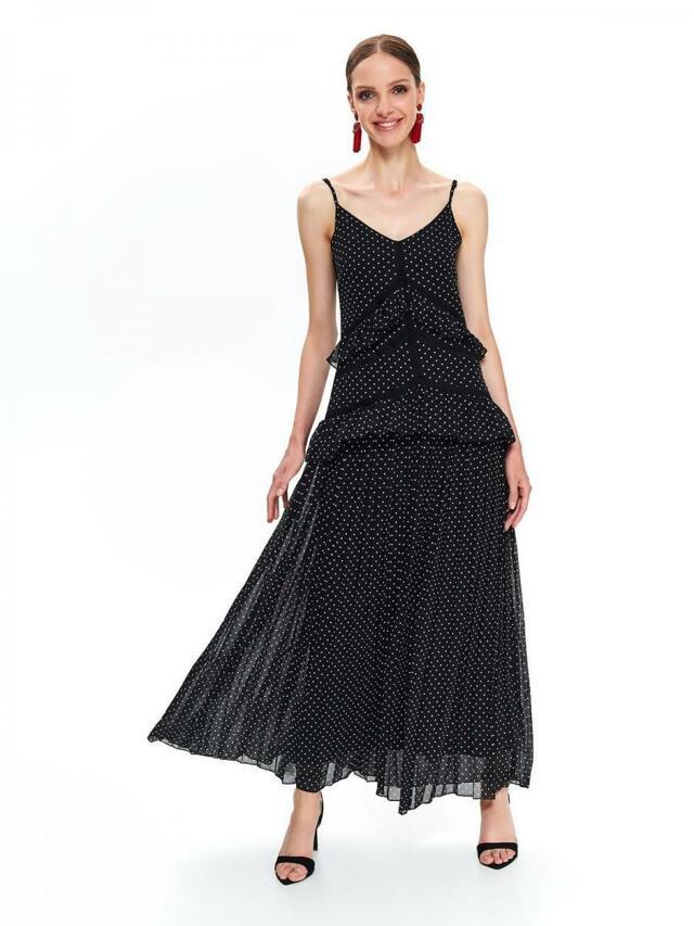 Top Secret Šaty dámské KILASA s puntíky v délce MAXI - 40