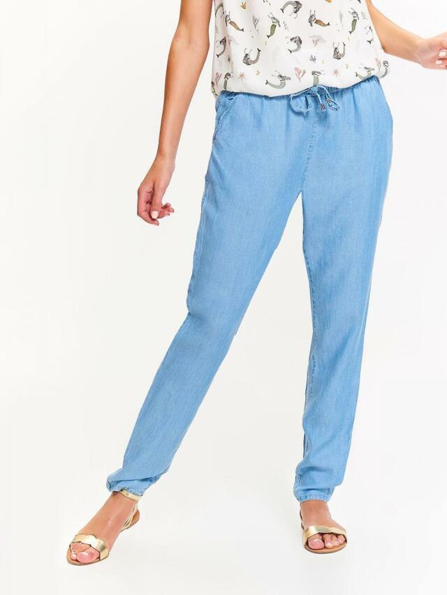 Top Secret Kalhoty dámské z lyocellu na gumu - 34