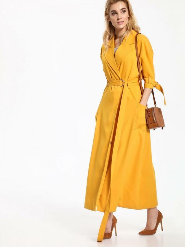Top Secret Kabát dámský dlouhý 3/4 rukáv poslední kus