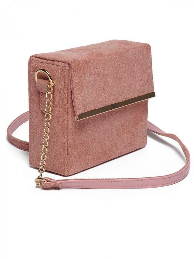 Top Secret Kabelka dámská růžová kufříková