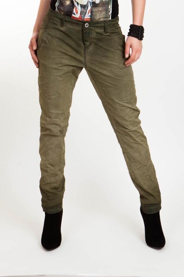 Broadway Kalhoty dámské s nízkým sedem - XS