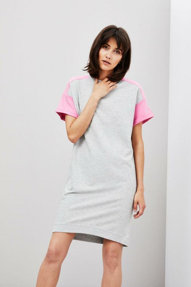 bcb0780d25f Moodo šaty dámské bavlněné s krátkým rukávem - XS