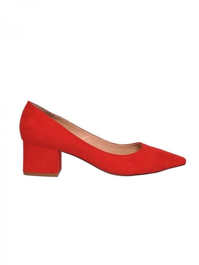 Top Secret Lodičky dámské červené na nízkém podpatku - 36