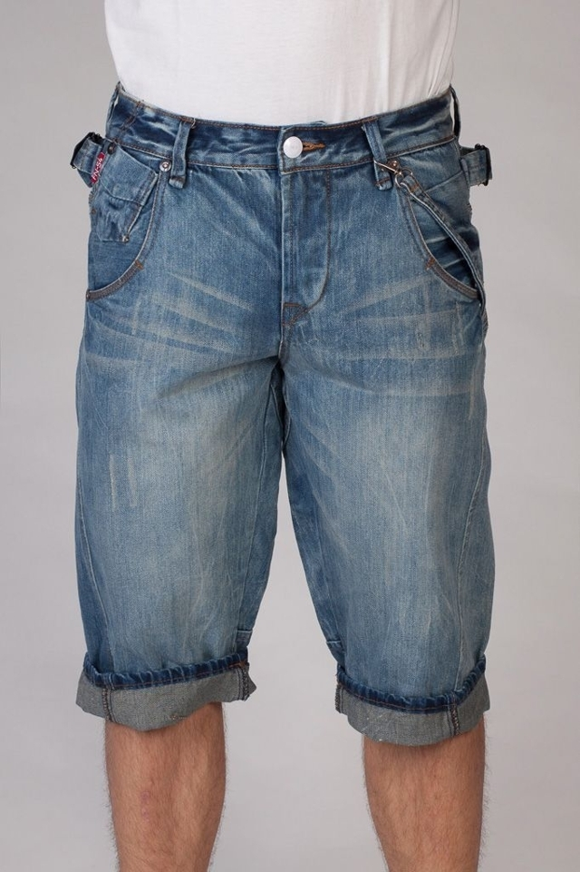 Funk'N'soul Jeans kraťasy pánské