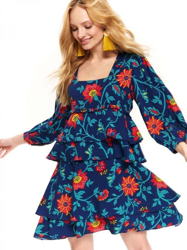Top Secret Tunika dámská květinové s volánky 2 - 36