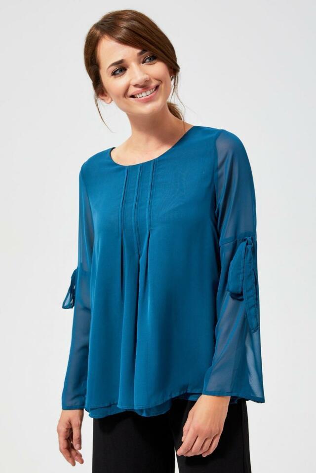 Moodo Košile dámská ULX s dlouhým rukávem - S