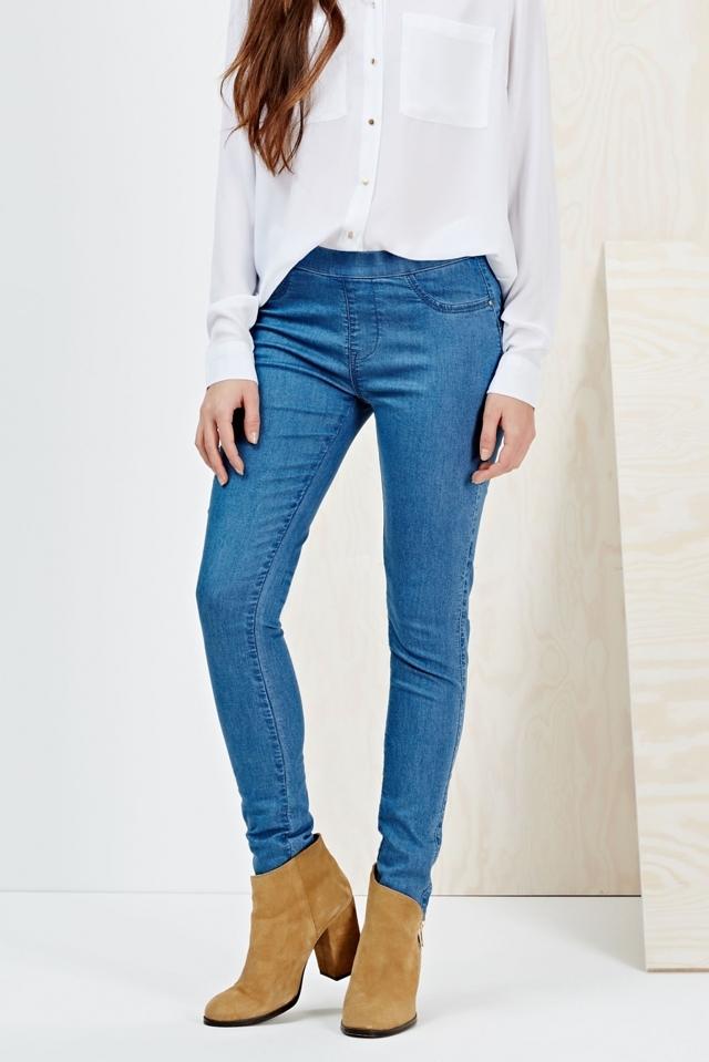 Moodo Jeans dámské bez zapínání - XS