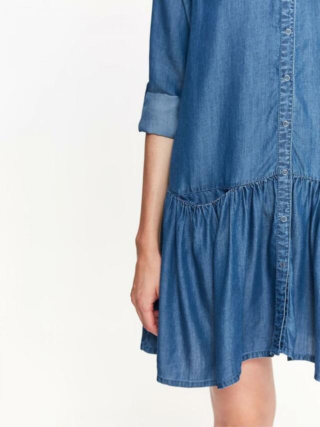 9c037e4acd9a ... Top Secret šaty dámské jeans s dlouhým rukávem (804597) - 4 ...