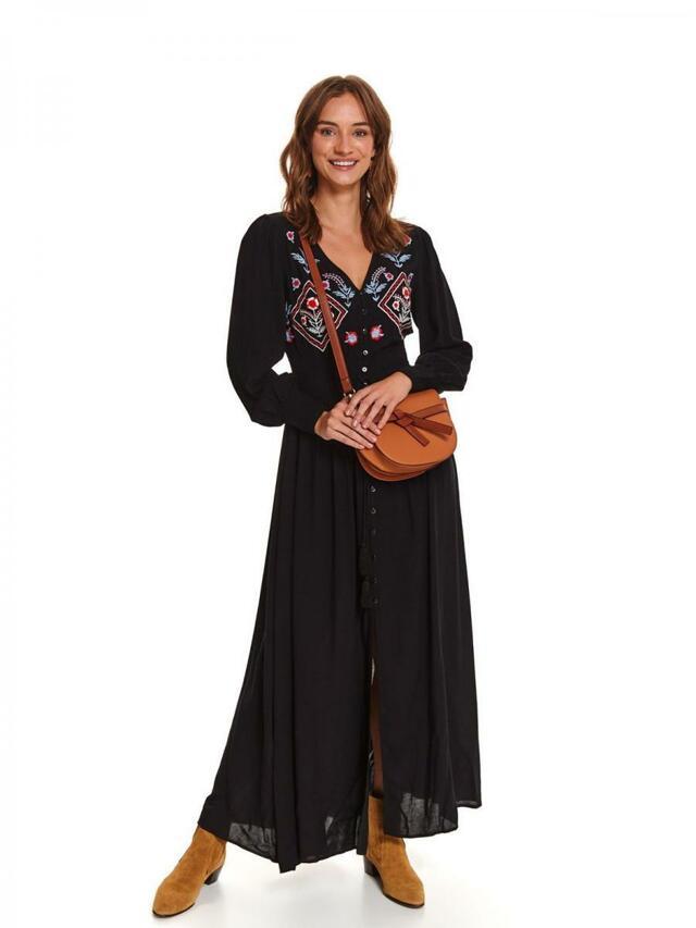 Top Secret Šaty dámské MAXI BLACK - 40